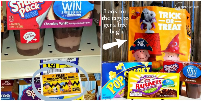 Fun! Get a free Peanuts trick or treat bag!