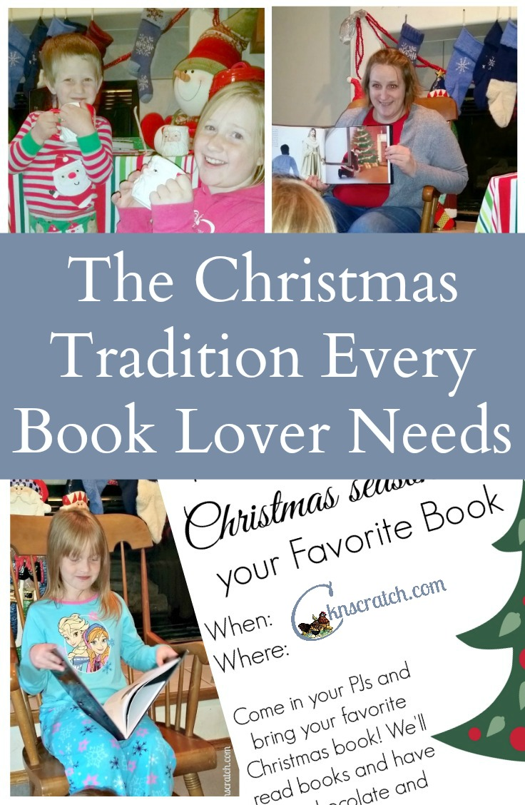What a fun way to kick off the Christmas season! Everyone brings their favorite Christmas story to share while sipping hot chocolate! Definitely the perfect Christmas tradition for book lovers!
