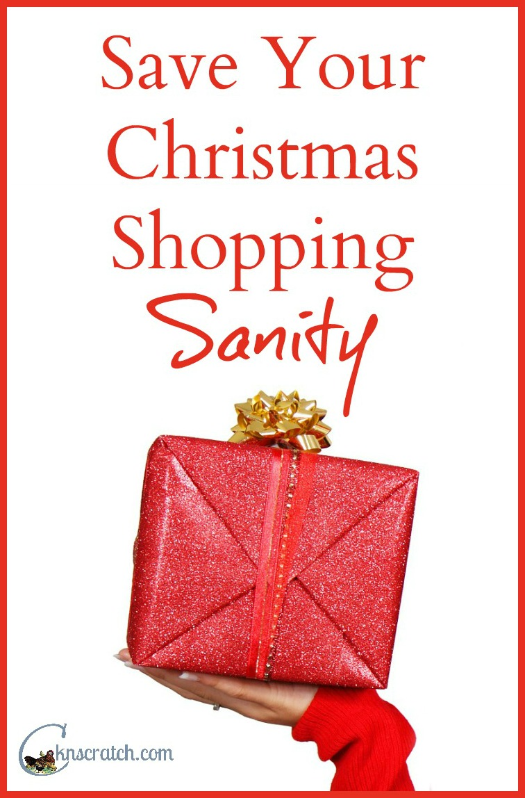 Skip the stress and keep your sanity when you're Christmas shopping this year!