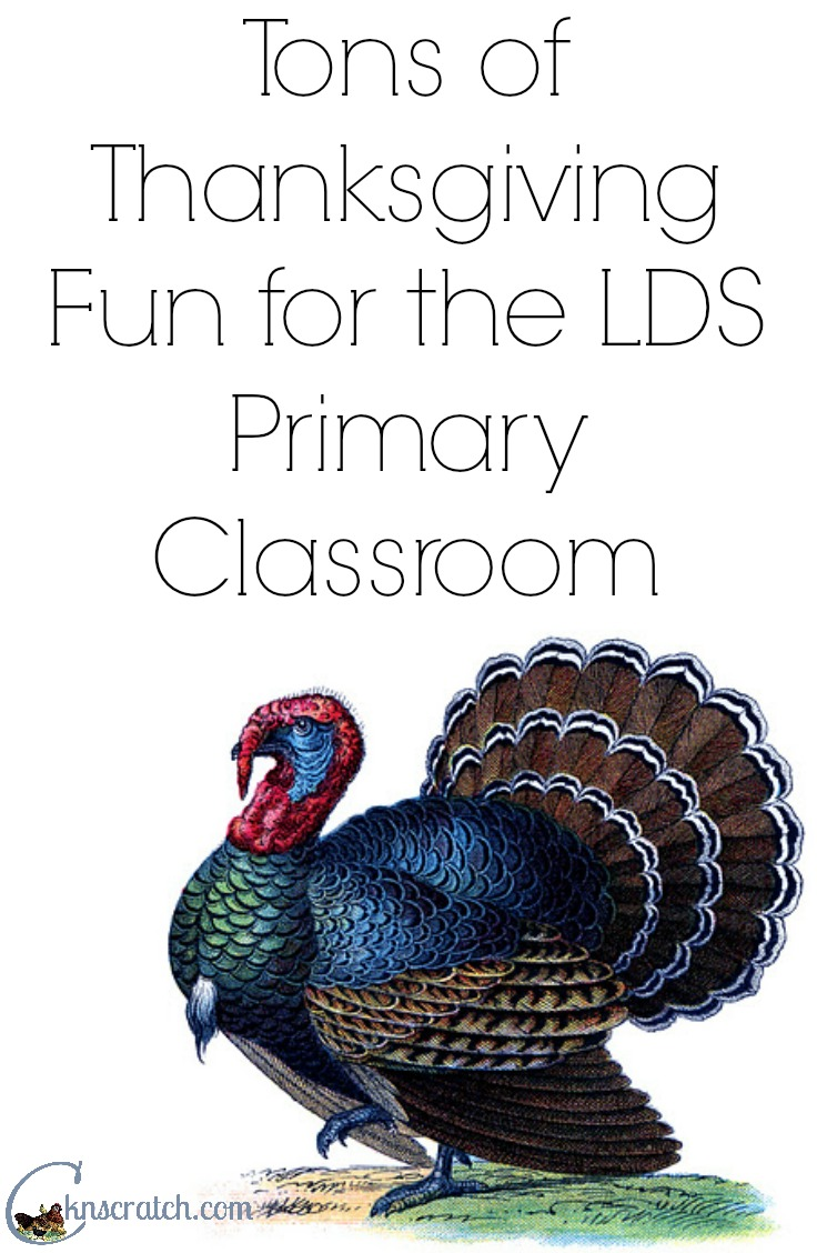 Thanksgiving Activities for the Classroom- great for primary