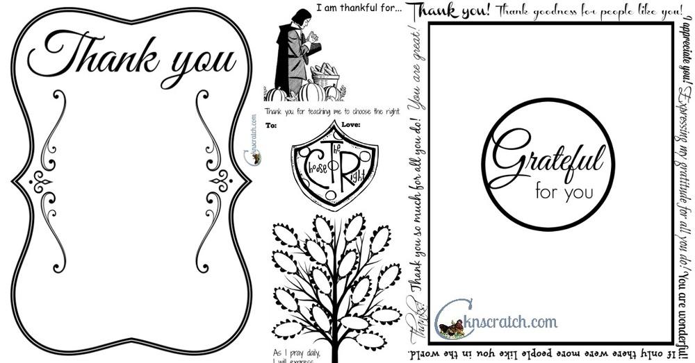 Write your thanks