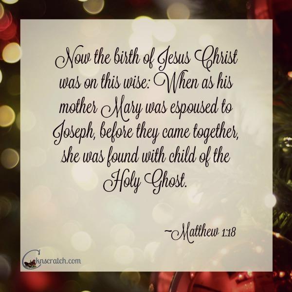 Joseph was such a good man.