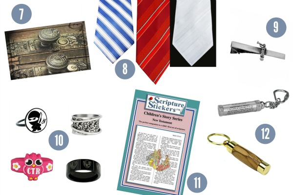These are excellent ideas for what to put in the a LDS Christmas Stocking. I really want that CTR ring.