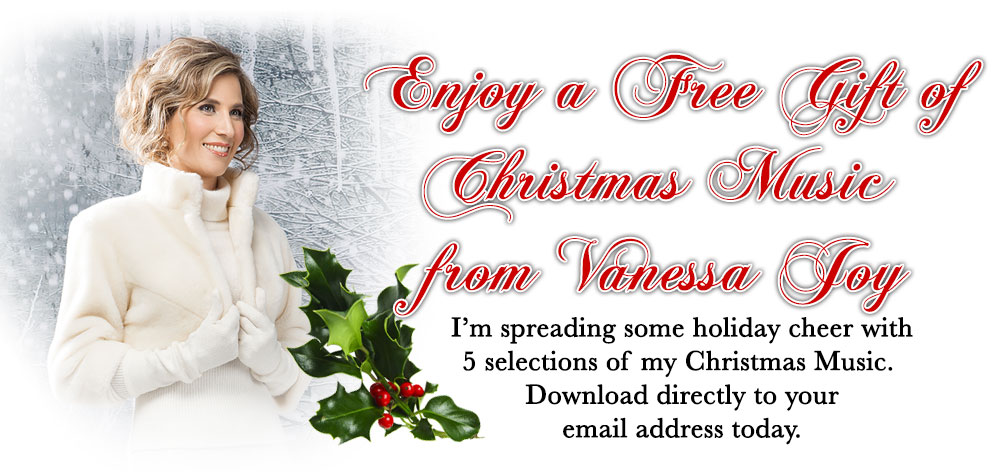 Free Christmas music from Vanessa Joy