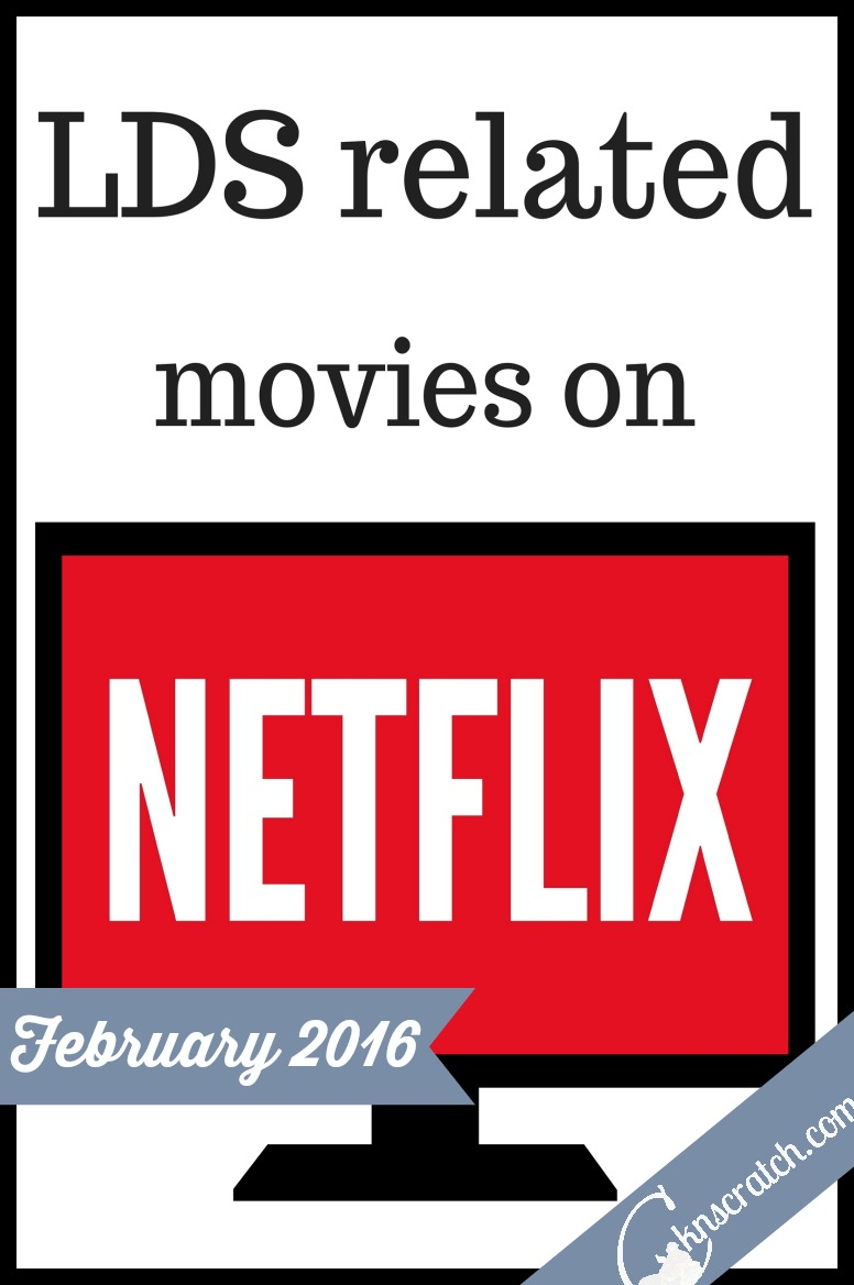Love this list of LDS related movies to stream on Netflix! This is so great!