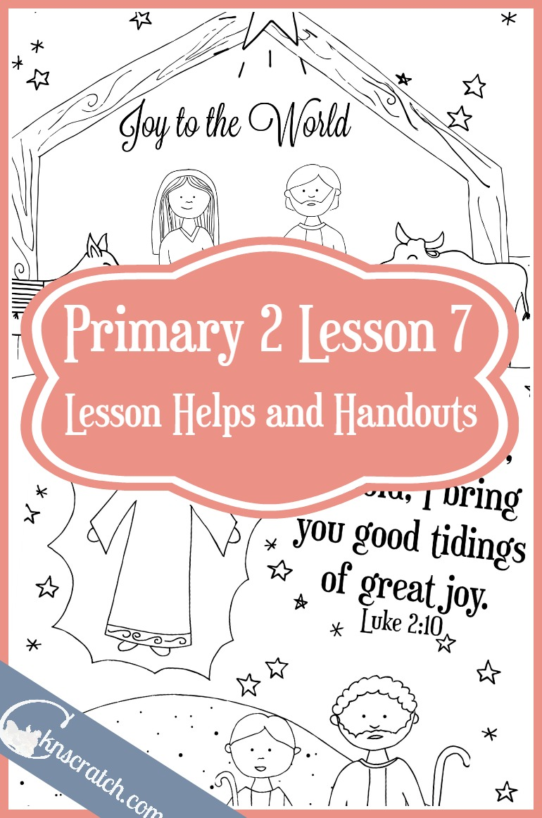 Love this site! LDS lesson helps and handouts for Primary 2 Lesson 7