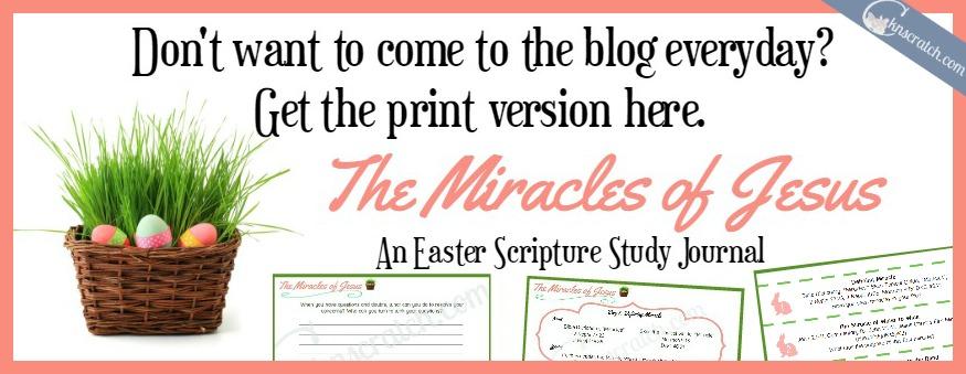 2 week Easter scripture study