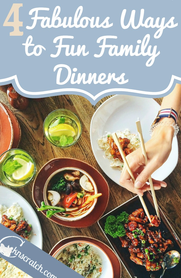 I can definitely do these. Great ideas to improve family dinners!
