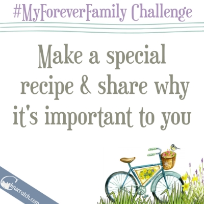 Join the #MyForeverFamily challenge