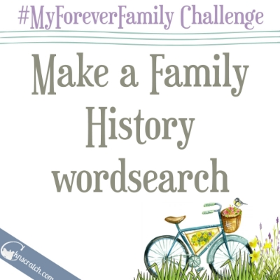 Fun way to learn family history names