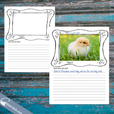 I need to do more photo journal- great free template to use