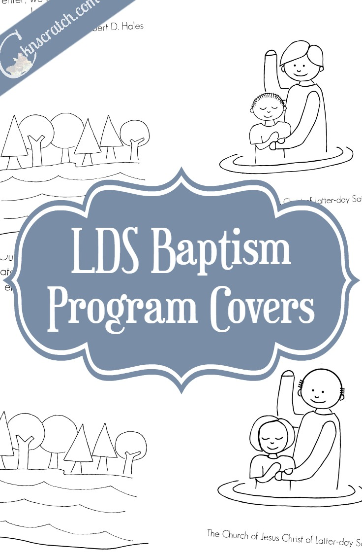 Free LDS Baptism Covers — Chicken Scratch N Sniff