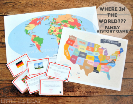 Fun Family History games to play