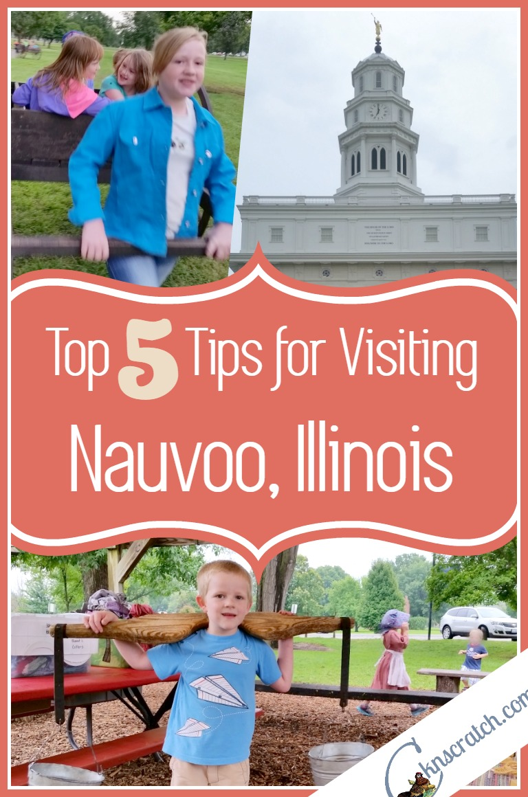 I love church history trips! These are a must- 5 top tips for Nauvoo Illinois