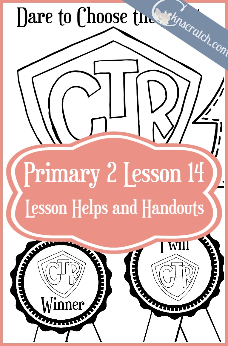 I love this site. So many great ideas for LDS primary lessons. Here's the helps for Primary 2 Lesson 14: Dare to Choose the Right