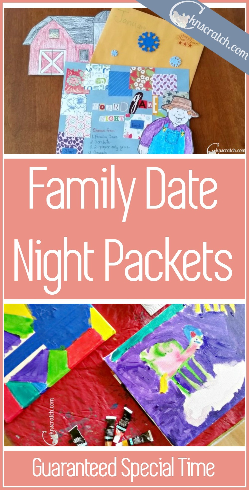 This is a fabulous idea! Family date night packets for guaranteed special time year round. This would make a great Christmas gift too!
