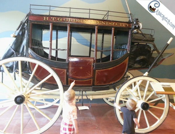 I didn't know about this! The Penrose Heritage Museum in Colorado Springs includes antique carriages and hill climb race vehicles. Neat!