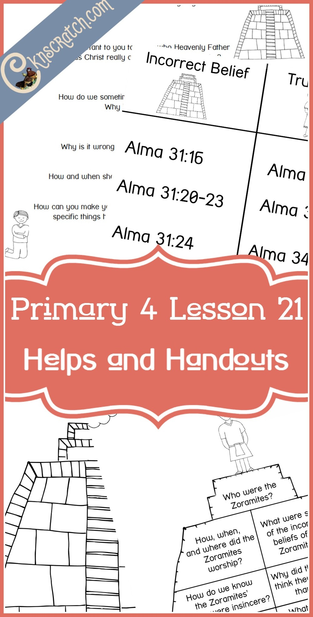 Lots of great LDS handouts and some lesson helps for Primary 4 Lesson 21: The Zoramites and the Rameumptom