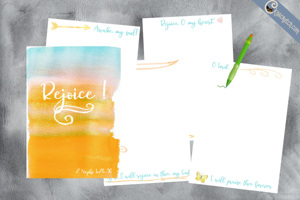 A Rejoice Journal- what a great idea!
