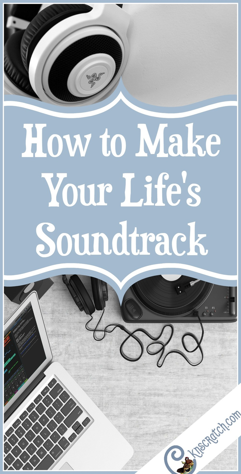 Great idea! Make a soundtrack for your life and play it when you need a little extra motivation.
