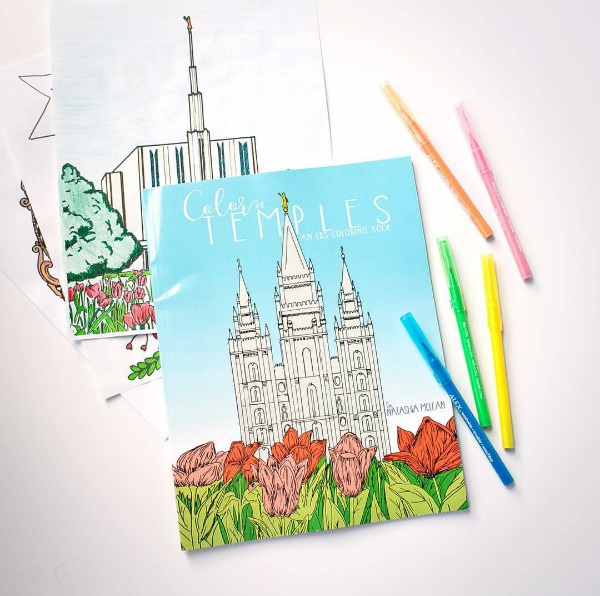 Color the LDS temples!