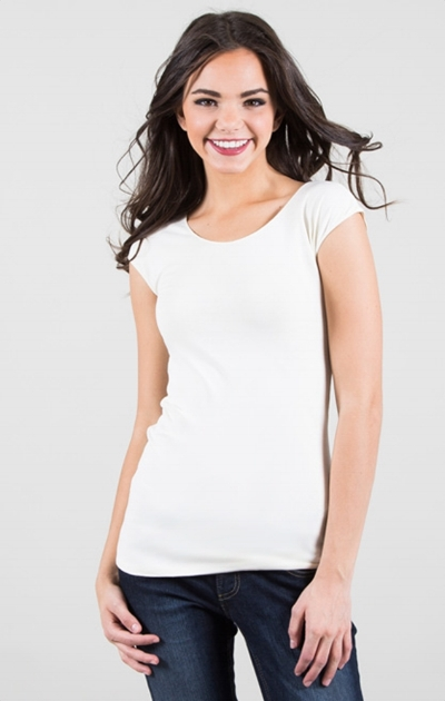 Need a bunch of these cap sleeve shrits- easy for layering