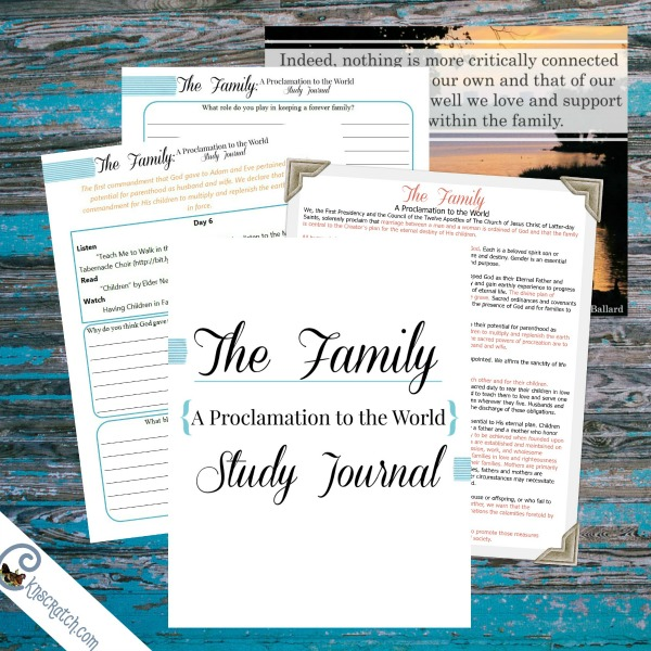 Gain a testimony of the family and an understanding of your duty to protect it in this 3 week study