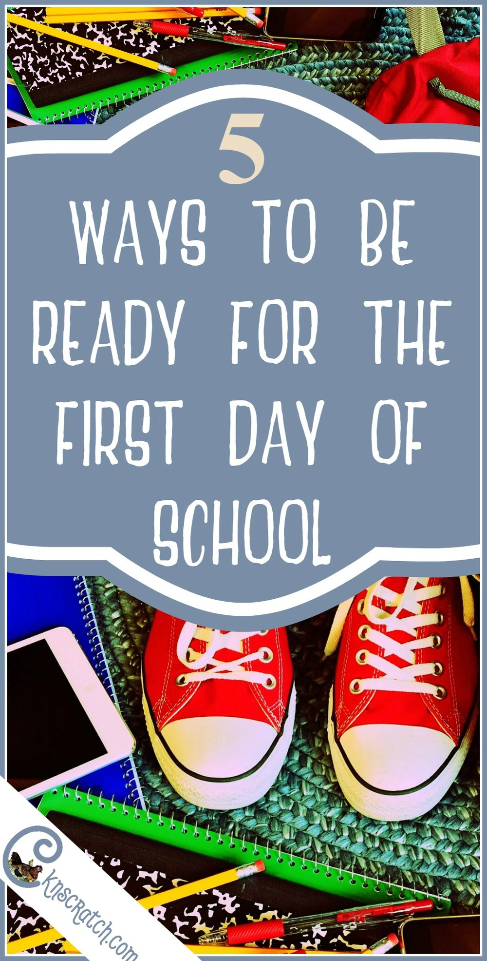 Beyond school supplies- 5 ways to be ready for the first day of school