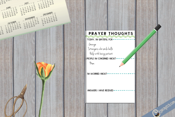 Love these ideas- ways to make your prayers more meaningful. The free printable is a great idea.