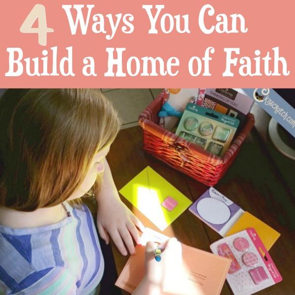Turn your house into a home of faith