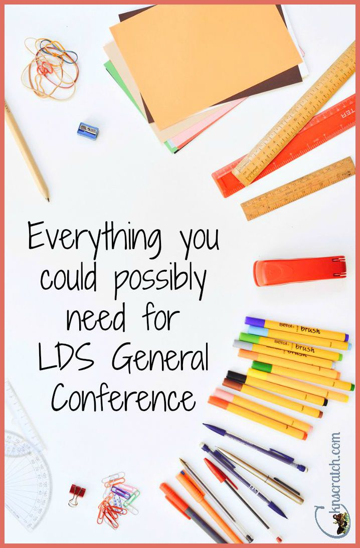 Everything you need for General Conference