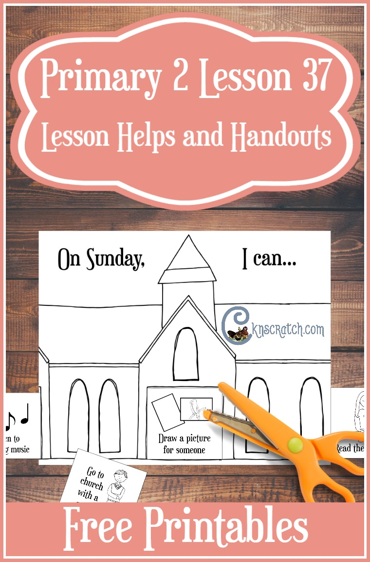 Excellent resources about the Sabbath day holy- great for families but it's focused on teaching Primary 2 Lesson 37 (Junior Primary)