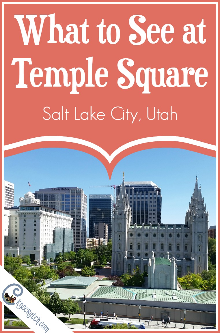 Things to see at Temple Square, SLC. I honestly didn't realize there was so much to Temple Square.