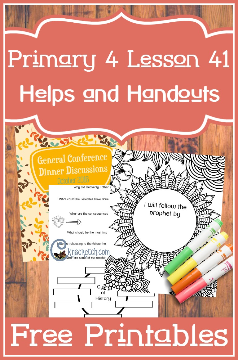 Love these LDS Primary 4 Lesson 41 helps and free handouts (The Jaredites Reject the Prophets)
