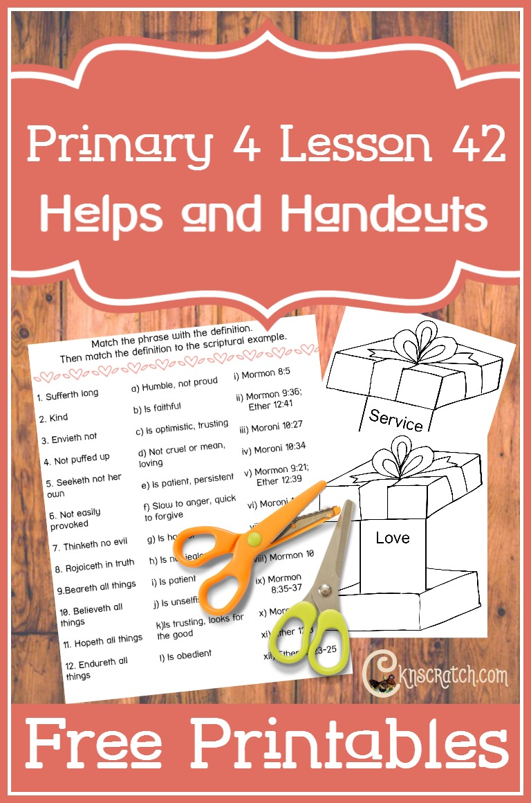 I always love this site for teaching Primary lessons. Helps and free handouts for Primary 4 Lesson 42: Moroni and His Writings