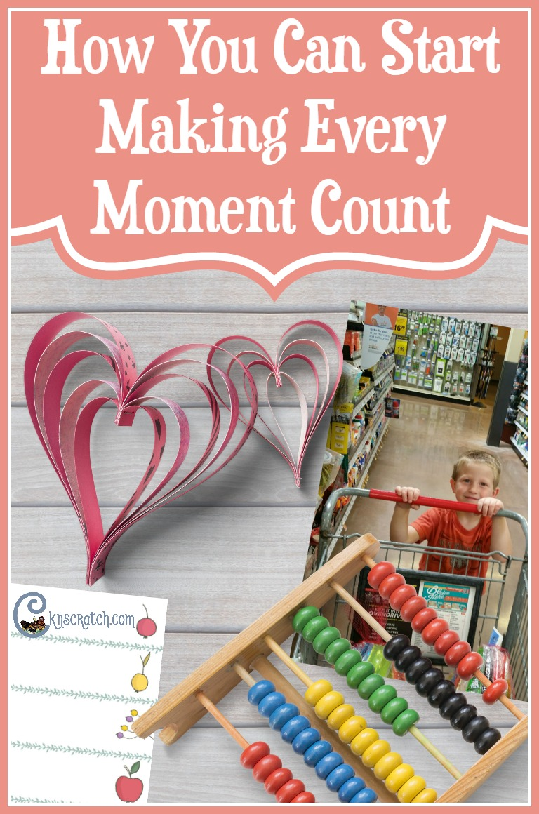 Great idea to start making the real moments in life count