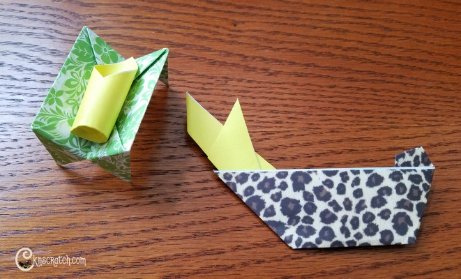 So fun! Bible Origami- perfect for church!