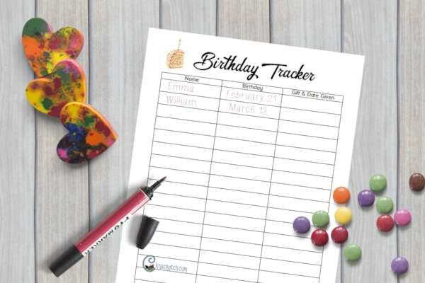Great ideas for birthdays in a LDS Classroom