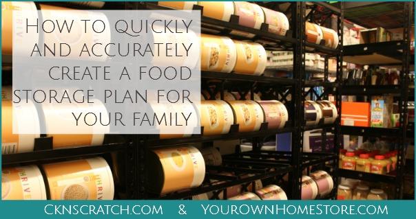Free Food Storage Webinar