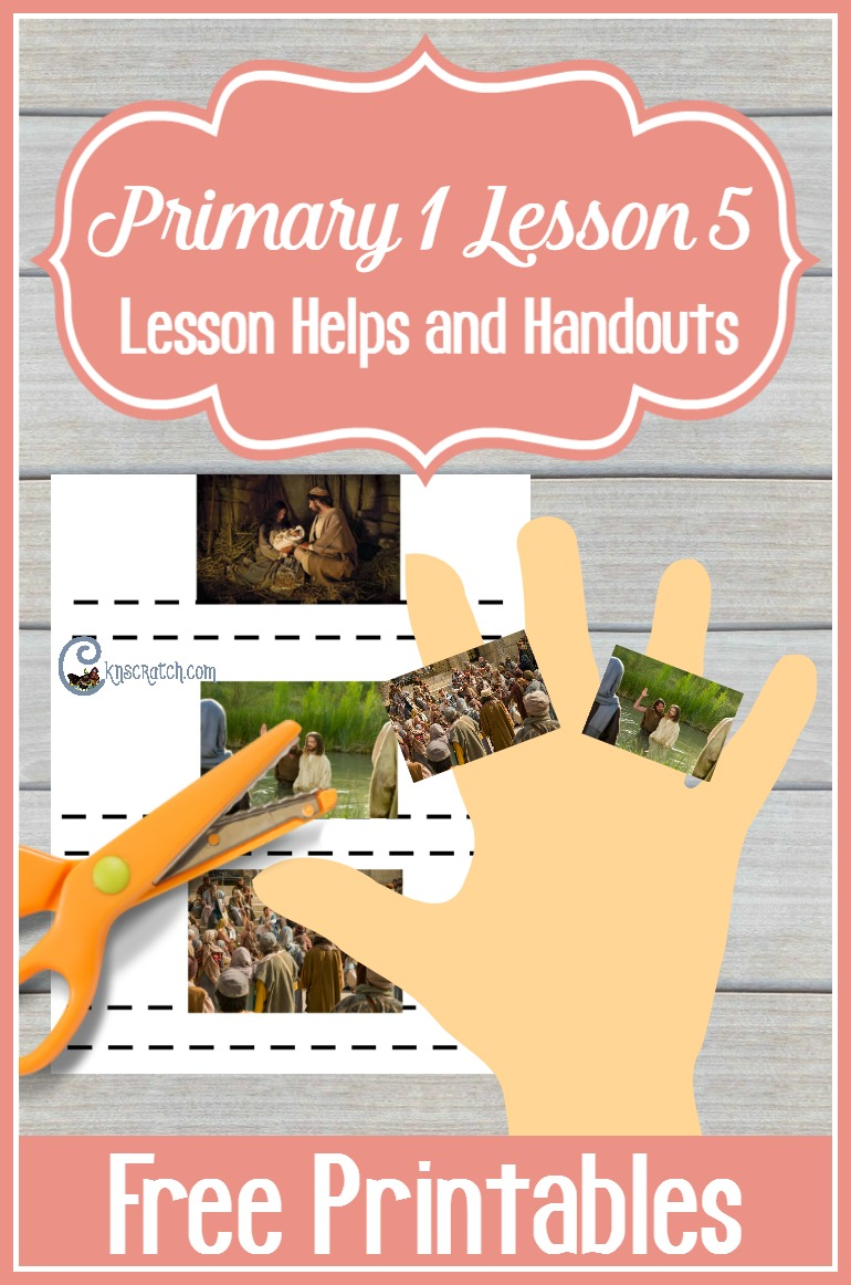 Love these lesson helps and handouts for Sunbeams! (LDS Primary 1 Lesson 5: Jesus Christ is the Son of Heavenly Father)
