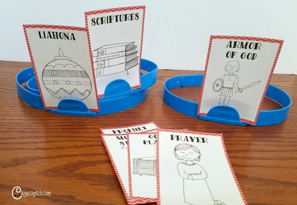 Fun! A LDS Game kind of like Hedbanz. Great for Family Home Evening or church activity