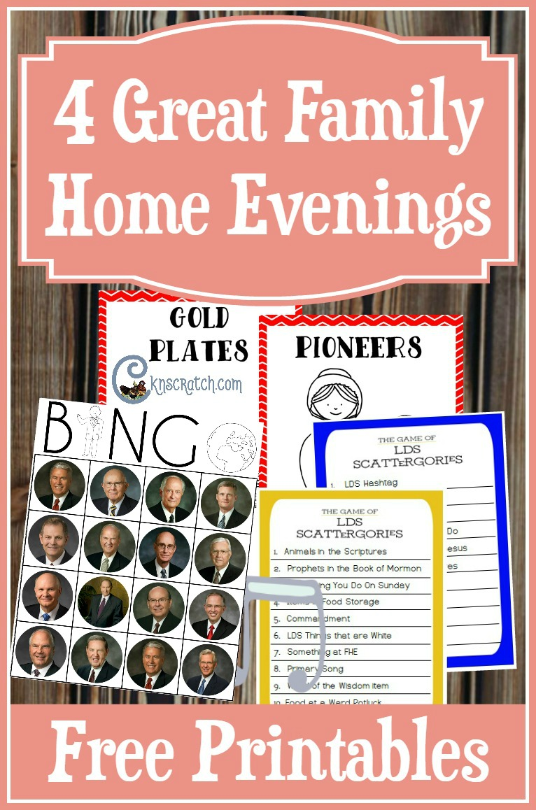 These are such fun ideas! I love the free printables- great Family Home Evening ideas