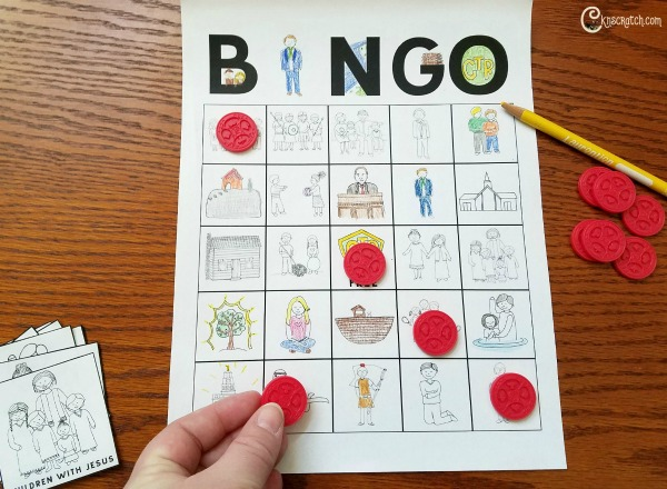 I'll have to try this- play Bingo during your next Primary lesson to help keep everyone's attention