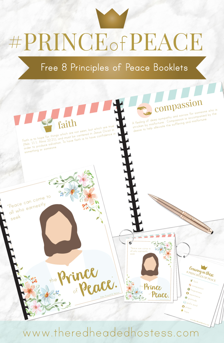Love these booklets and lesson from The Red Headed Hostess