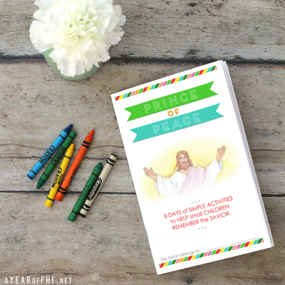 Free Children's Booklet for #PrinceofPeace from A Year of FHE