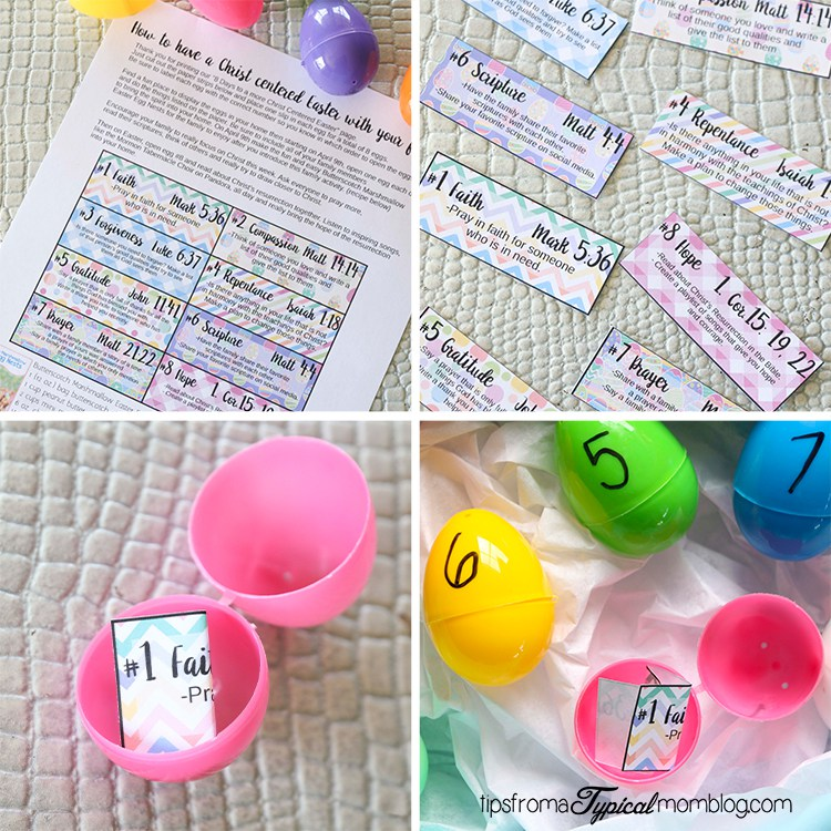 Free Family Easter activity from Tips from a Typical Mom