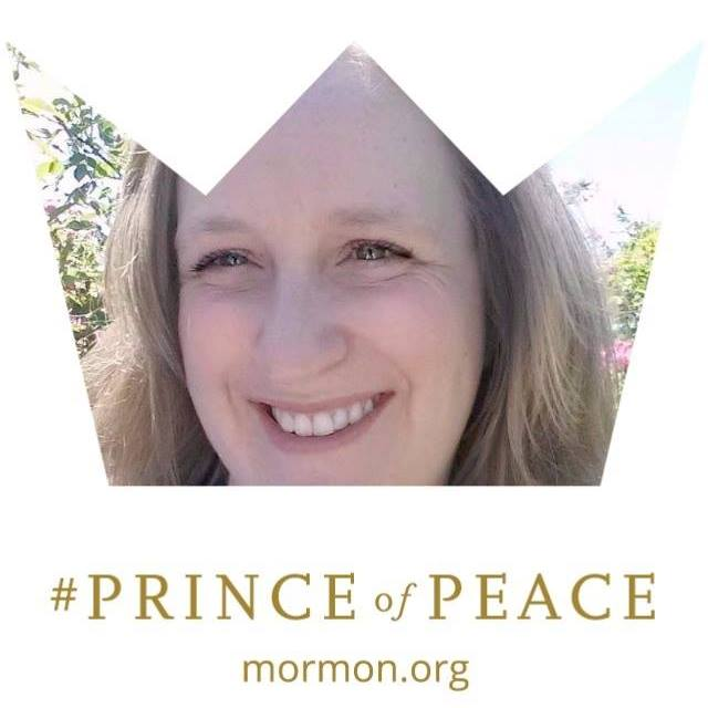 Make a #PrinceofPeace Facebook profile