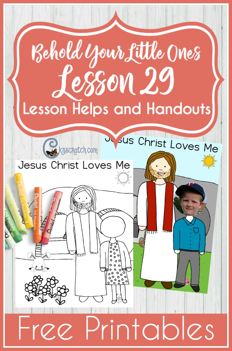 Great Easter lesson for Nursery- Jesus Christ Was Resurrected