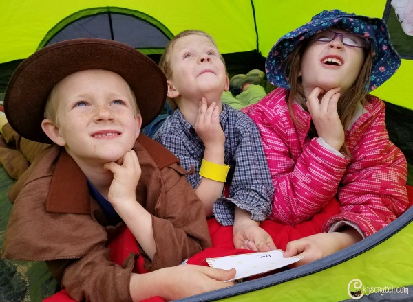 Camp out and star gaze for Family Pioneer Day fun