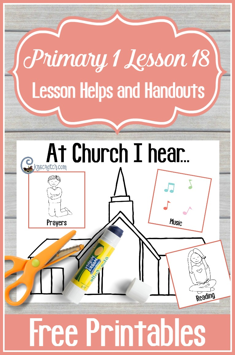 Love this site. Great helps for teaching Primary 1 Lesson 18: I am thankful for my ears